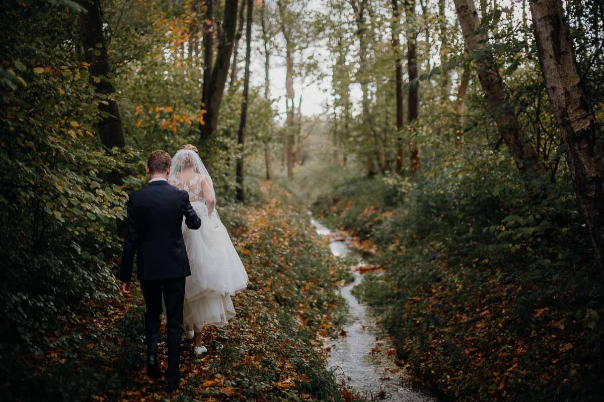 Skønne billeder fra bryllupsdagen og festen